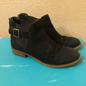 Franco Sarto   Ketty Chelsea Suede Ankle Boot 6